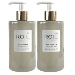 BODY WASH & BODY CREAM