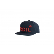 ROIL Blue & Red Snapback